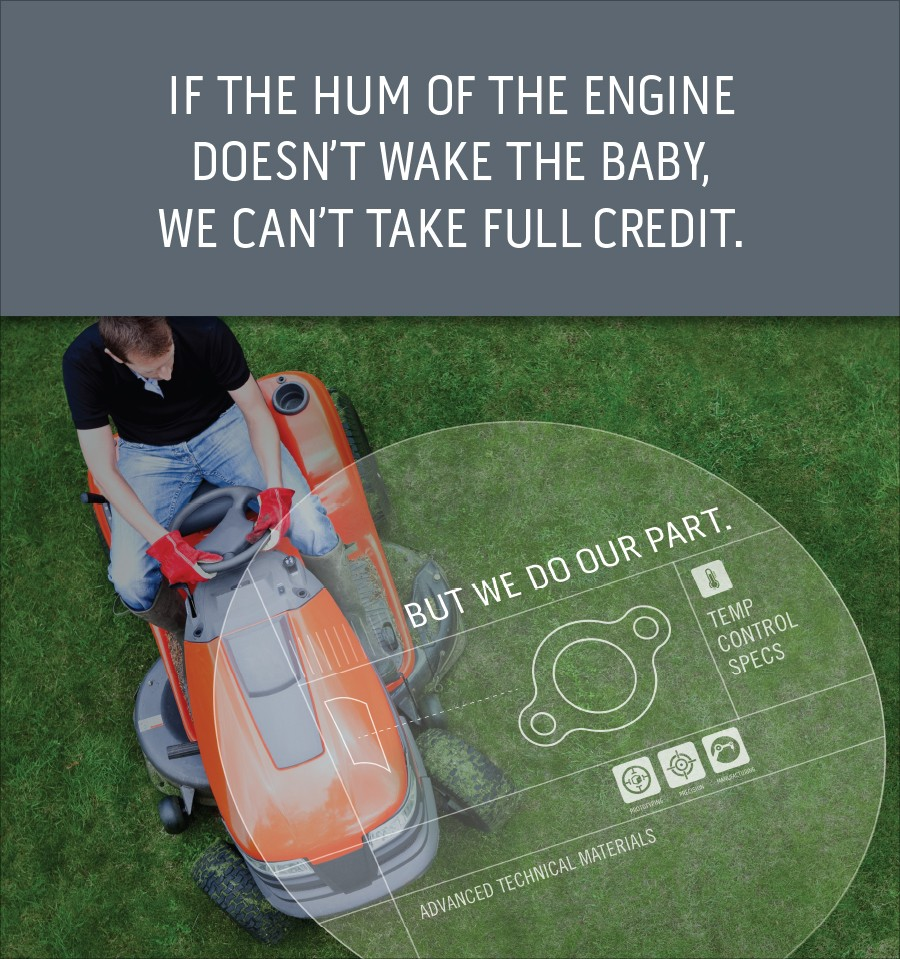If the hum of the engine doesn't wake the baby, we can't take full credit. But we do our part.
