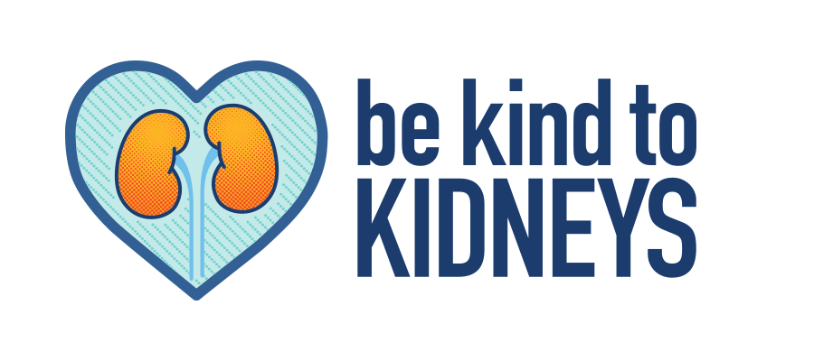 Be Kind To Kidneys Logo